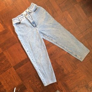 Vintage Talbots Light Wash High Waisted Relaxed